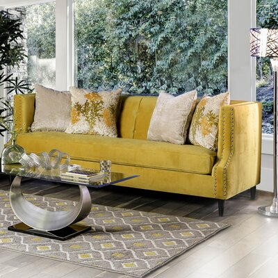 Mylor Sofa Upholstery: Yellow
