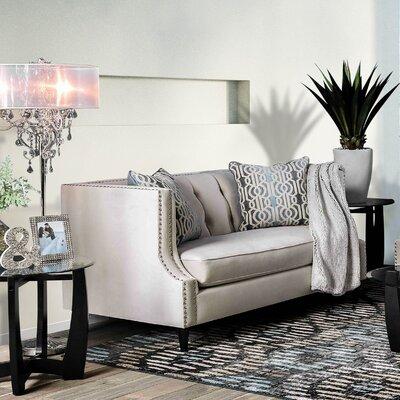 Mylor Loveseat Upholstery: Beige