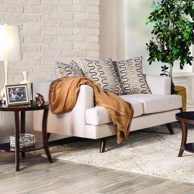 Landover Loveseat Upholstery: Beige