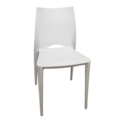 Dolce Dining Chair Color: White