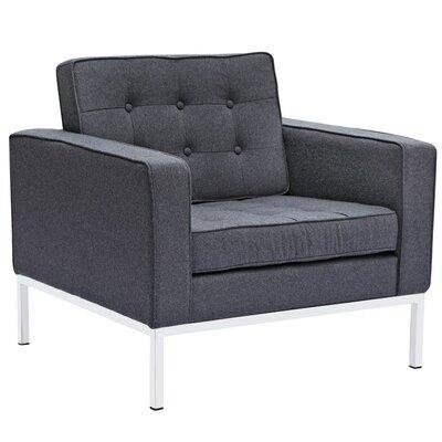 Rolina Armchair Upholstery: Gray