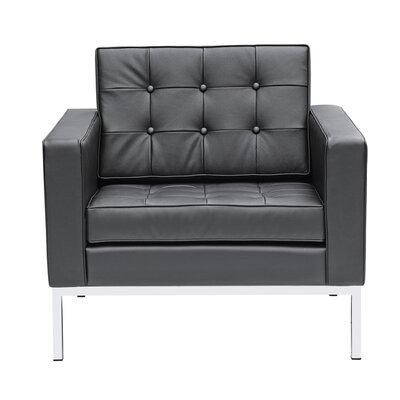 Seawell Armchair Upholstery: Black