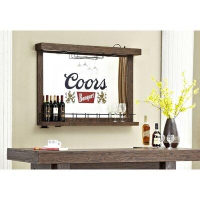 Coors Banquet Wall Bar