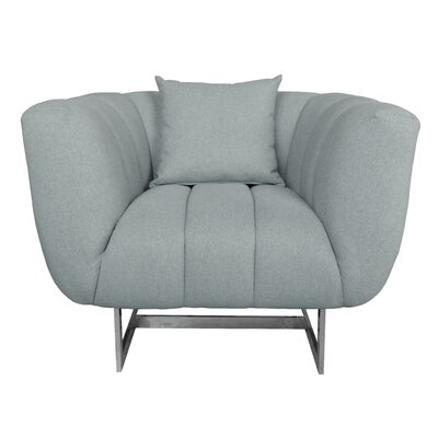 Kushner Armchair Upholstery: Gray