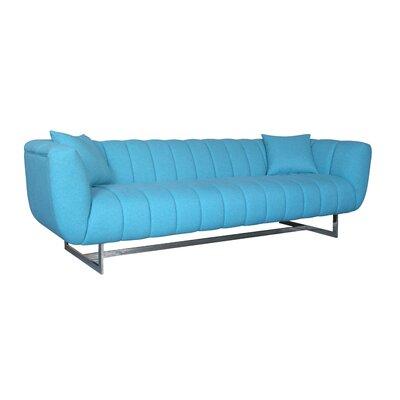 Kushner Sofa Upholstery: Aqua
