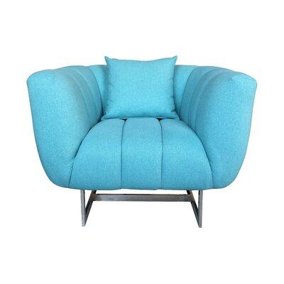 Kushner Armchair Upholstery: Aqua