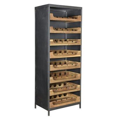 Dingler Teak Bar with Wine Storage