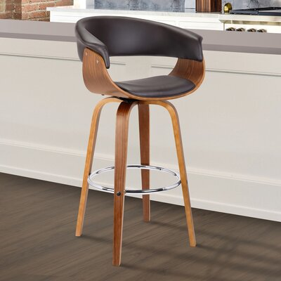 Chagnon Swivel Bar Stool Size: 41 H x 24 W x 20 D