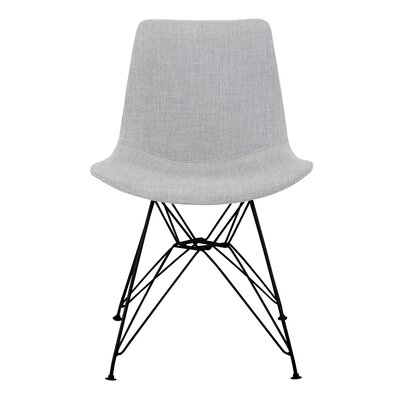 Abdera Upholstered Dining Chair Color: Gray