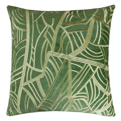 Phinney Embroidery Velvet Throw Pillow