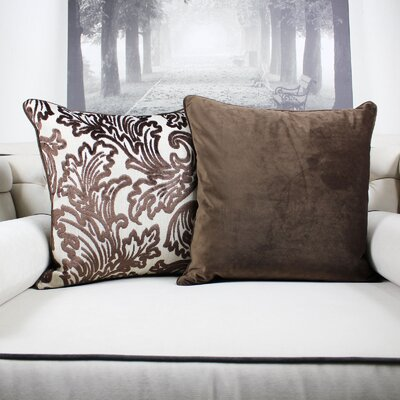 Merrifield Modern Velvet Throw Pillow