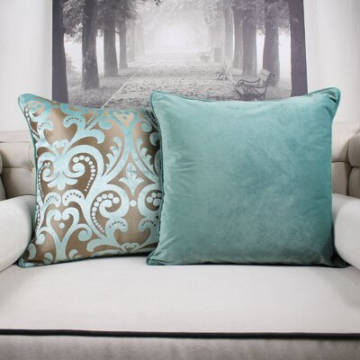 Merrick Road Velvet Throw Pillow