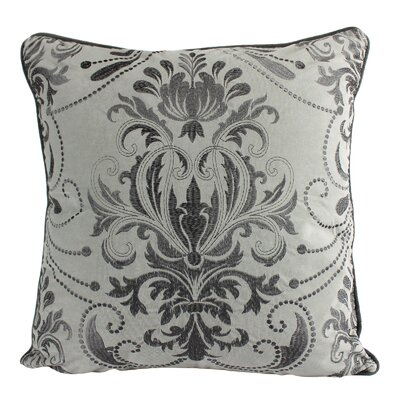 Hitchens Luxury Embroidery Velvet Throw Pillow