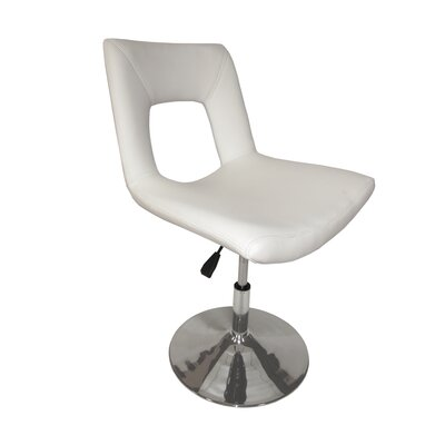 Dublin Side Chair Side Chair Upholstery: Ivory