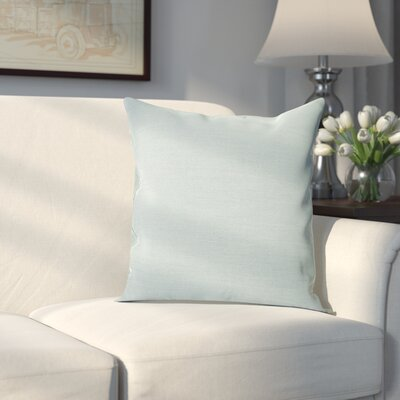 Edelen Sunbrella Throw Pillow Color: Spectrum Dove