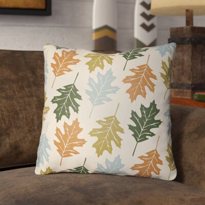 Pitchford Indoor/Outdoor Throw Pillow Size: 18 H x 18 W, Color: Beige/Light Blue