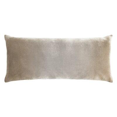 Ombre Large Velvet Boudoir Pillow Color: Coyote, Size: 16 x 36