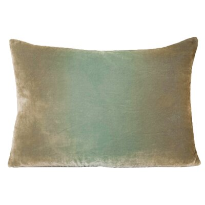 Ombre Velvet Throw Pillow Color: Antique