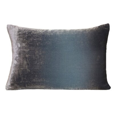 Ombre Velvet Throw Pillow Color: Dusk