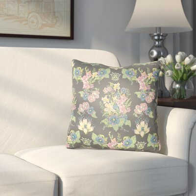 Dysart Indoor/Outdoor Throw Pillow Size: 18 H x 18 W x 3 D, Color: Navy