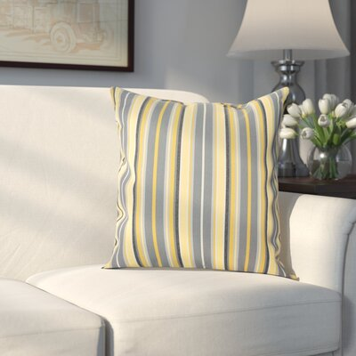 Edelen Sunbrella Throw Pillow Color: Foster Metallic