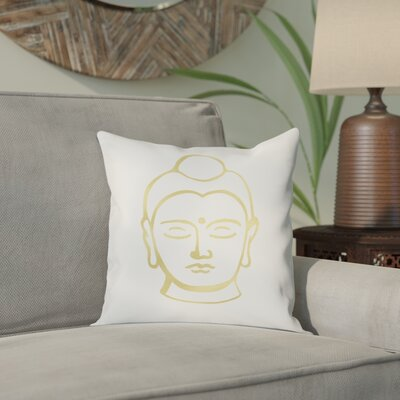 Cassel Buddha Cotton Throw Pillow