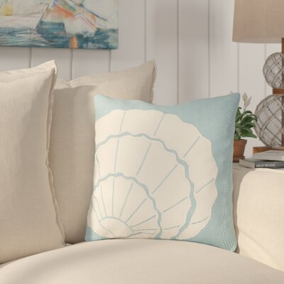 Crossland Shell Applique Throw Pillow