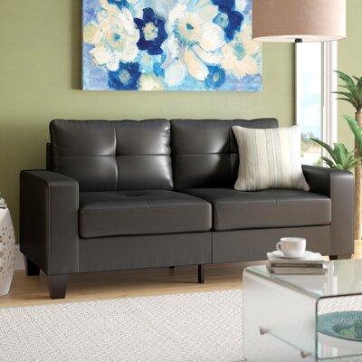 Tiff Modern Sofa Finish: Black