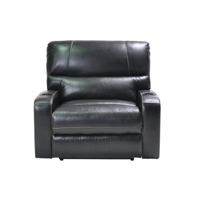 Filip Oversized Leather Power Recliner