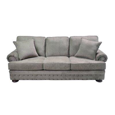 Cassondra Stationary Sofa Upholstery: Gray