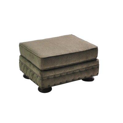 Cassity Stationary Ottoman Upholstery: Gray