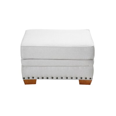 Hutchens Stationary Ottoman Upholstery: Cream