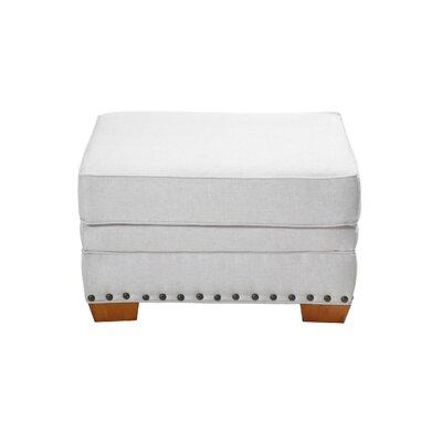 Hutchens Stationary Ottoman Upholstery: Cream