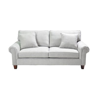 Zayas Stationary Sofa Upholstery: Cream