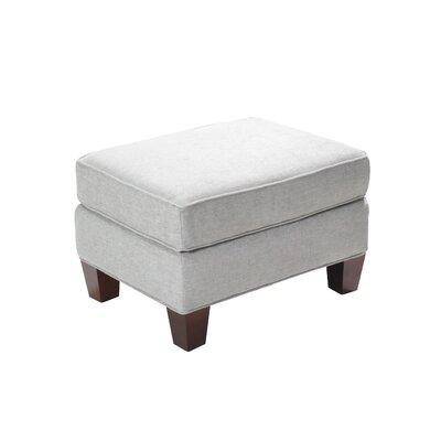 Zavala Stationary Ottoman Upholstery: Cream
