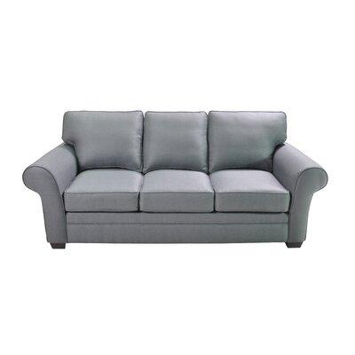 Huggins Stationary Sofa Upholstery: Blue