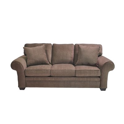 Huggins Stationary Sofa Upholstery: Brown