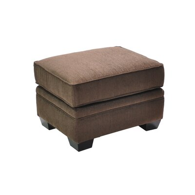 Hufnagel Stationary Ottoman Upholstery: Brown