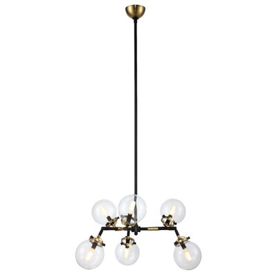 Roman 6-Light Candle-Style Chandelier