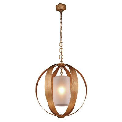 Damiane 1-Light Globe Pendant