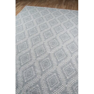 Easton Pleasant Hand-Woven Gray Indoor/Outdoor Area Rug Rug Size: Rectangle 5 x 76