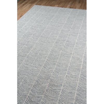 Easton Congress Hand-Woven Grey Indoor/Outdoor Area Rug Rug Size: Rectangle 76 x 96