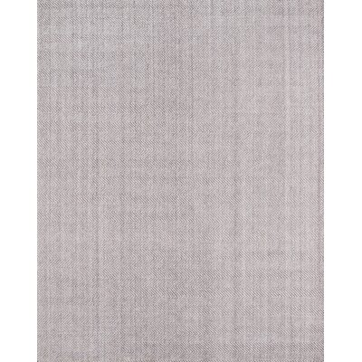 Ledgebrook Washington Hand-Woven Wool Brown Area Rug Rug Size: Rectangle 89 x 119
