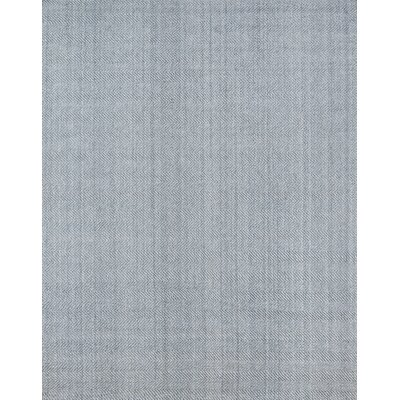 Ledgebrook Washington Hand-Woven Wool Grey Area Rug Rug Size: Rectangle 5 x 8