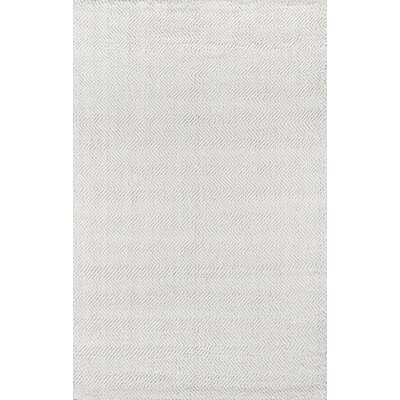 Ledgebrook Washington Hand-Woven Wool Ivory Area Rug Rug Size: Rectangle 79 x 99