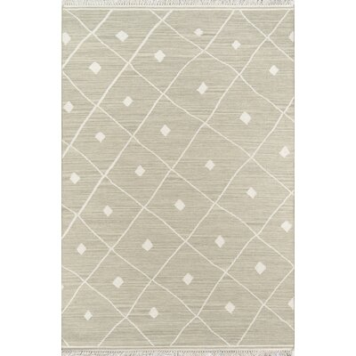 Thompson Appleton Hand-Woven Wool Sage Area Rug Rug Size: Rectangle 2 x 3