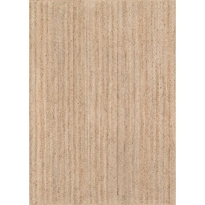 Westshore Waltham Hand-Woven Wool Brown Area Rug Rug Size: Rectangle 86 x 116
