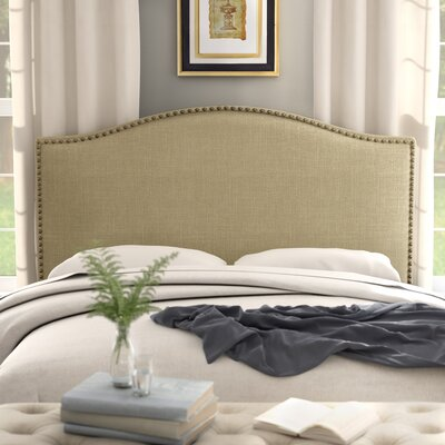 Ivesdale Queen Upholstered Panel Headboard Upholstery: Beige