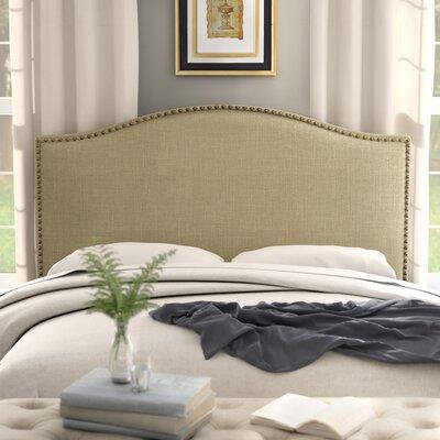 Ivesdale Queen Upholstered Panel Headboard Upholstery: Beige