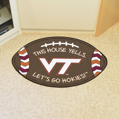 NCAA Virginia Tech Southern Football Utility Mat